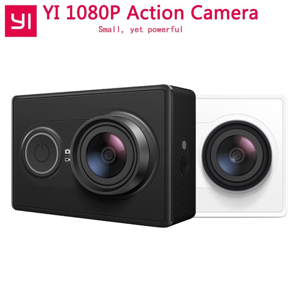 [Edición Internacional] Xiaoyi YI acción Cámara WiFi BT4.0 16MP 3D reducción de ruido 60FPS Ambarella A7LS deportes Mini cámara