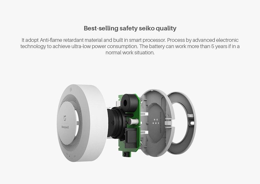 Xiaomi Mijia Honeywell Fire Alarm Smoke Detector Sensor (5)