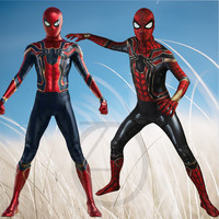 Spider Man Peter Parker Cosplay Infinity War Costume Avengers Superhero Spider Man Jumpsuit Halloween Clothes Spiderman Outfit