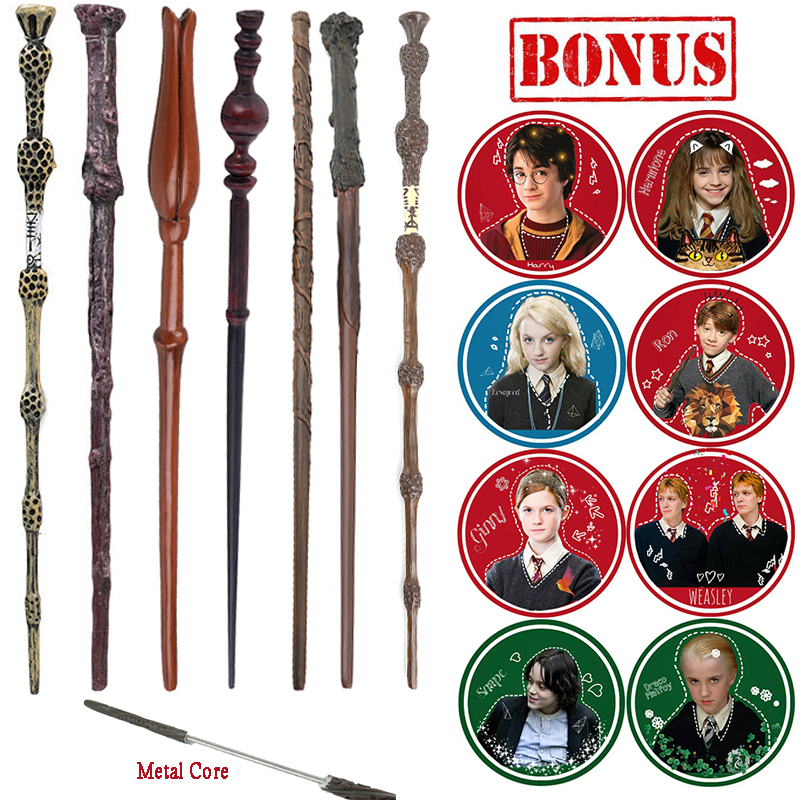 Metal/Iron Core Harry Series Magic Magical Wands/ Magic Sticks Dumbledore Old Wand/Elegant Playing Characters Stickers Gifts