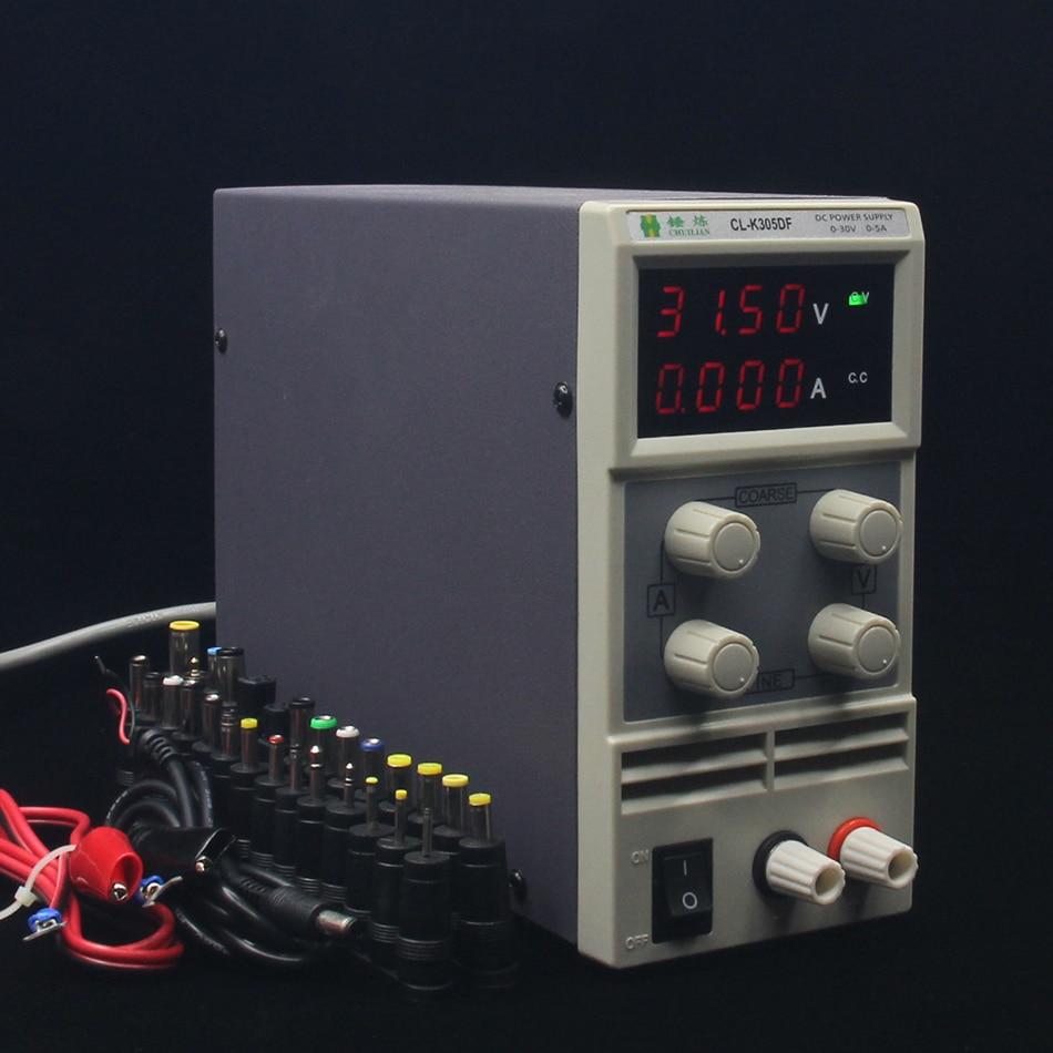 CLK305DF Switch laboratory DC power supply 30V,0.1V 0.01A 5Digital Display adjustable Mini DC Power Supply Voltage Regulators