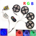 10M 15M 20M RGB Led Strips 5050 Non Waterproof 30leds/m+RF Touch Dimmable Remote Controller+AC 110/220V DC 12V Led Driver