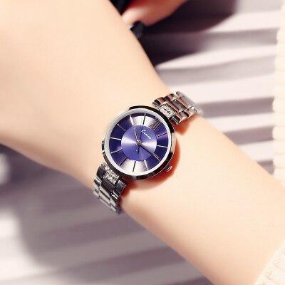 Montre femmes simple mode tendance chaîne dames montre étudiant montre quartz montre