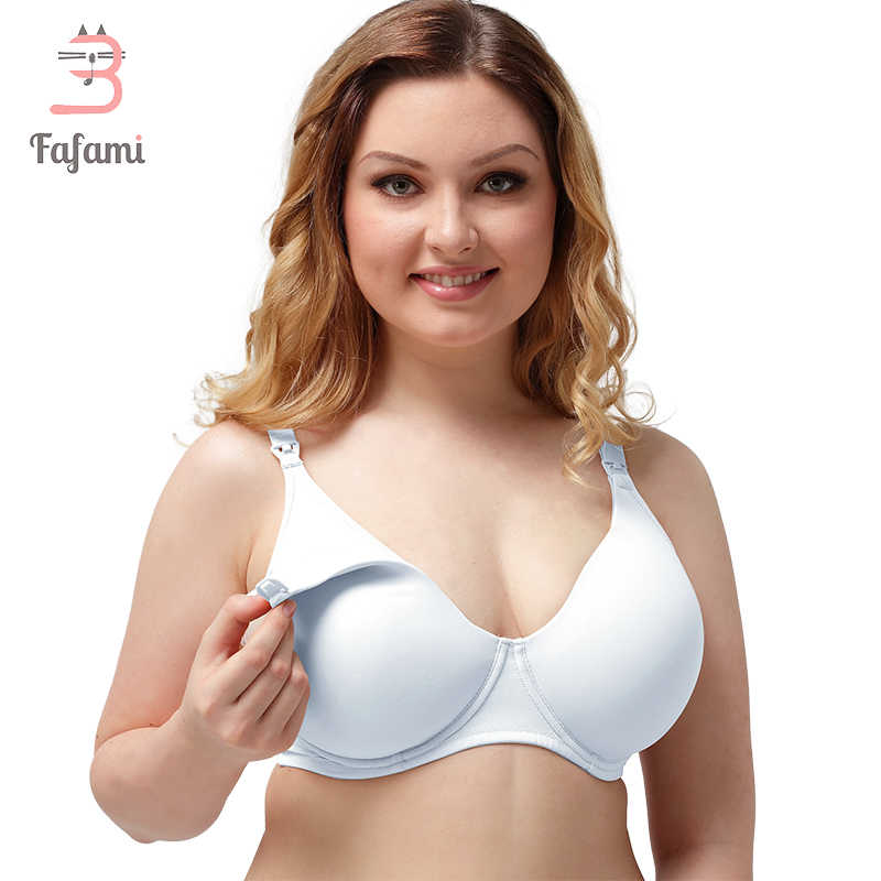 01461843e8227 Plus Size Big Nursing Bra Pregnancy Maternity breast feeding bra for  pregnant women breastfeeding Maternity clothing