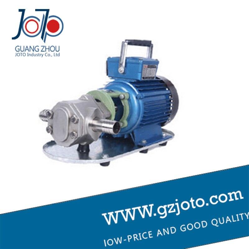 Pompe à engrenages auto-amorçante 100l/min huile de cuisson diesel à haute viscosité pompe à engrenages WCB-100p