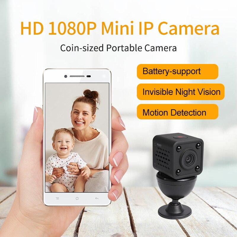 Meisort Mini caméra HD 1080 p Vision nocturne caméscope voiture DVR enregistreur vidéo infrarouge Sport caméra numérique ip wifi caméra de sécurité