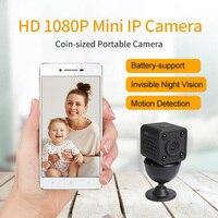 Meisort mini cámara HD 1080 p videocámara de visión nocturna coche DVR de infrarrojos video recorder deporte Cámara Digital IP WiFi seguridad cámara