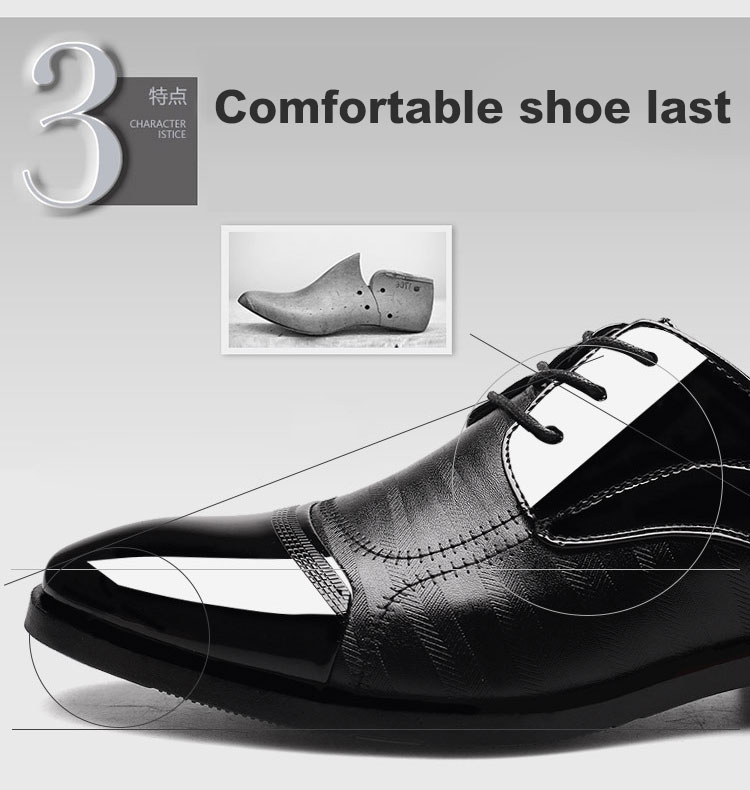 Luxury Business Oxford Leather Shoes 12