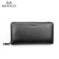 Men Wallet Genuine Leather Business Long Purse Male Clutch Wallets Men S Handbags Luxury Brand Black