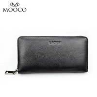 Men Wallet Genuine Leather Business Long Purse Male Clutch Wallets Men S Handbags Luxury Brand Black