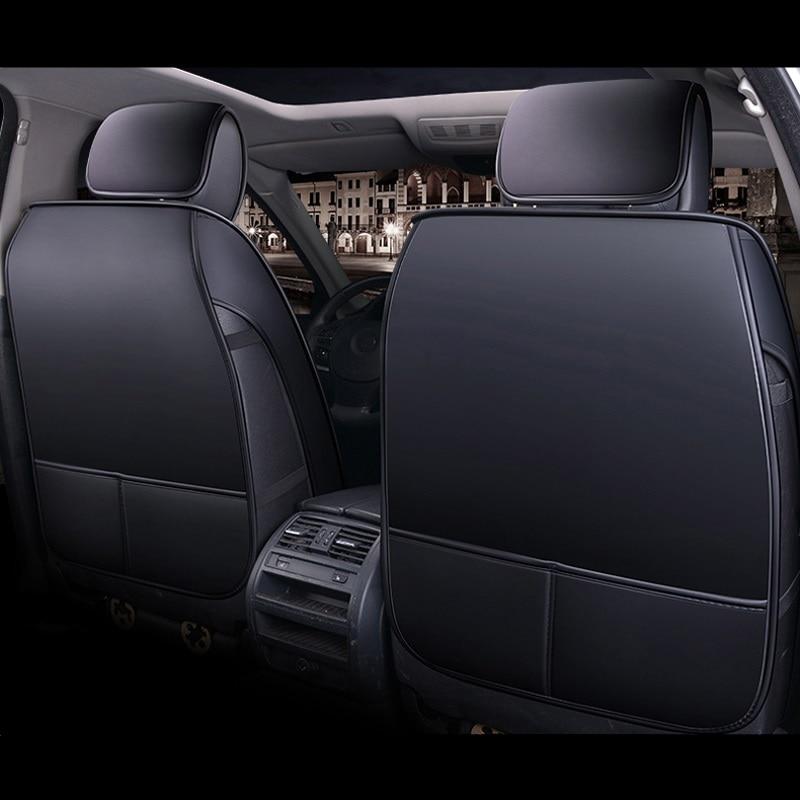 car seat cover auto seats covers vehicle chair leather case for ibiza 6l leon leon 1 2 leon fr toledo 2 tesla model s model x