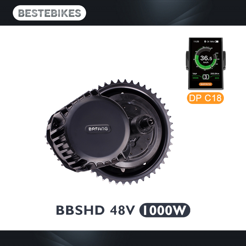 Bafang BBSHD 48 V 1000 w motor bbs03 ebike bicicleta eléctrica de motor de velo electrique bicicleta eléctrica kit nos Rusia CA AUS NZ sin impuestos