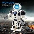 Детские развивающие игрушки Пространство Робот Игрушка Мультфильм Музыка Дети электрический Свет fun музыка ходить игрушка