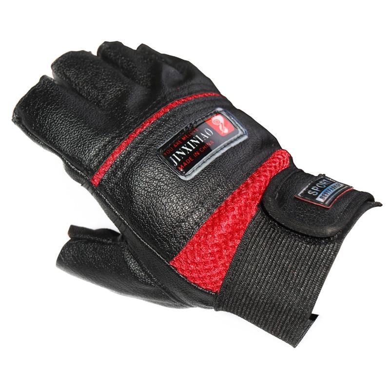 Venta caliente deportes al aire libre medio dedo guantes gimnasio guante  táctico militar fitness ejercicio para hombres mujeres envío gratis dc492ab41c9