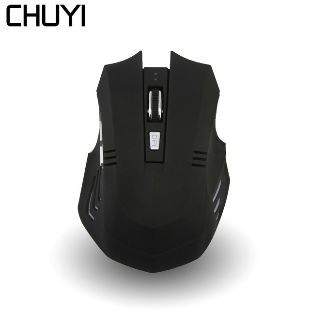 1678bec26da CHUYI 6 Buttons Silent Bluetooth Mouse 1000DPI Computer Gaming Mice Optical  Game Mause USB Charging Cable For PC Laptop Gamer