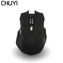 CHUYI Wireless Bluetooth Mouse Rechargeable Silent 6 Buttons Computer Gaming Optical Mause For PC Xiaomi Laptop Gamer Mice