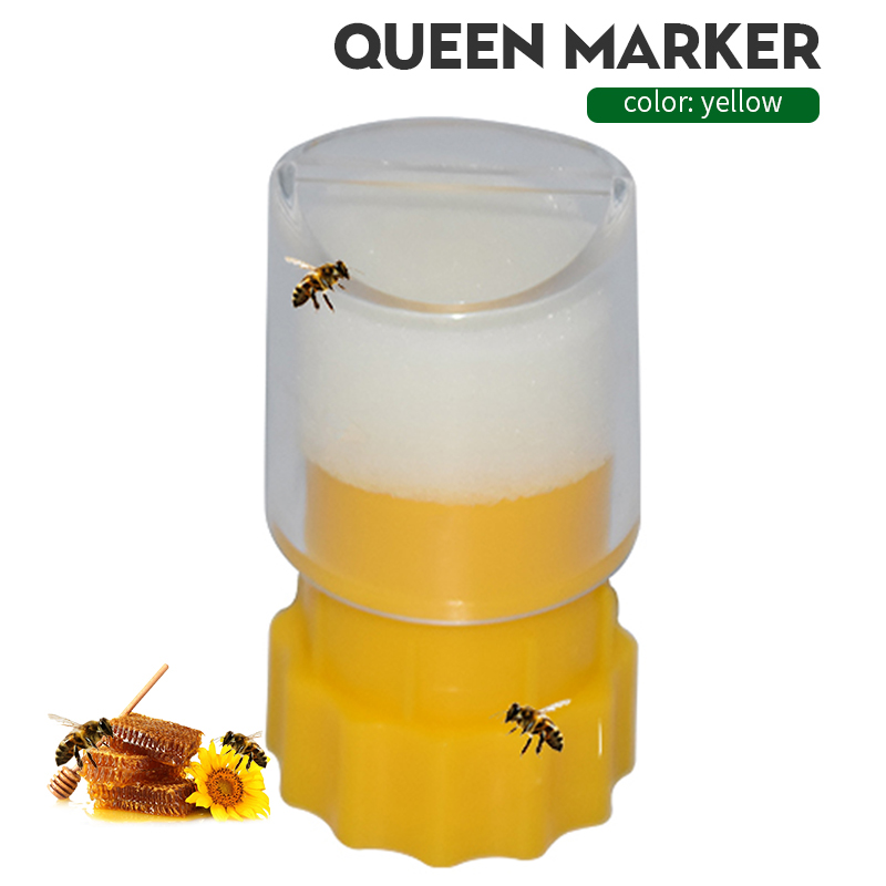Bee Queen Marking Cage Marker Catcher Plastic Bottle Beekeeper Tool Non-toxic And Safe Beekeeping Equipment For Capture Bee