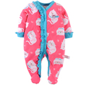 2016 New Spring Newborn Baby ClothesOne-pieceS Infant Baby Rompers Costume New Born Clothes Girls Boys Clothing