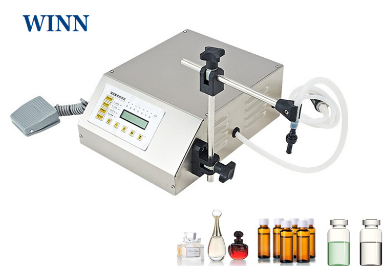 160 Electric Filling Machine For Liquid Material Digital Display Multipurpose Water Perfume Filling Machine Wine Filler Packer
