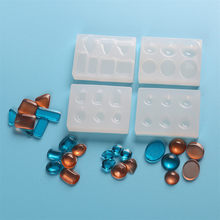 4 Styles Mold Pendant Charms Craft 1PCS UV Resin Liquid Silicone DIY Mould Transparent For DIY Ceramic Art Making(China)
