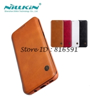 Nillkin Brand SFor Samsung Galaxy S8 Case Qin Series Flip Cover PU Leather Case For Samsung