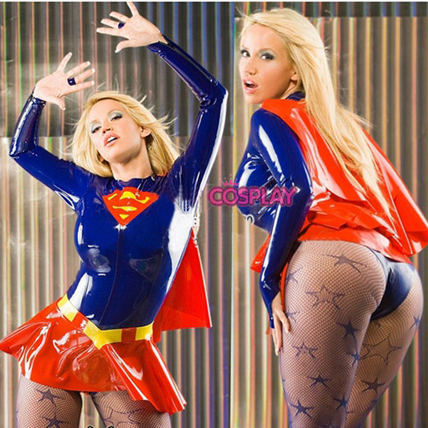 Sexy cosplay supergirl hot