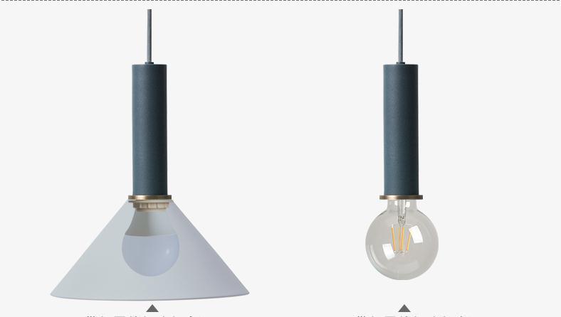 Luzes Pingente luzes de cabeceira, arte moderna Fonte de Luz : Lâmpadas Led