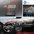 For Ford Mustang 2015 2016 Car Head Up Display Saft Driving Screen Projector - Refkecting Windshield