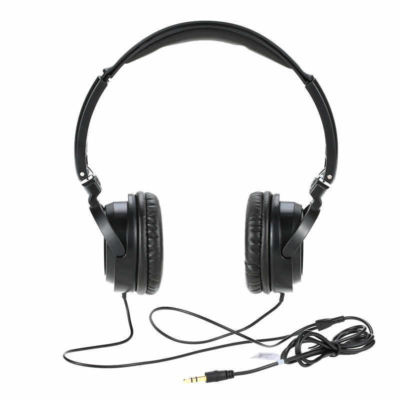 Auriculares de música profesional de alta fidelidad Salar EM520 auriculares estéreo plegables de 3,5mm auriculares estéreo de aislamiento de ruido para ordenador pc