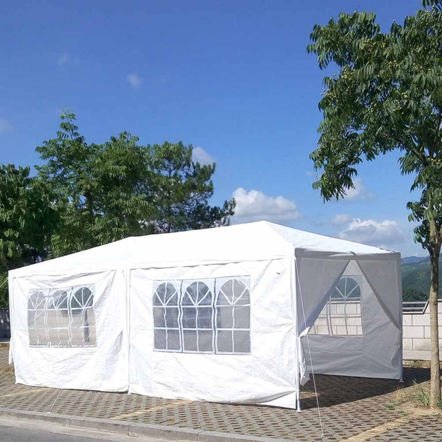 10u0027x20u0027 Outdoor Marquee Tent Canopy Party Outdoor Patio Wedding Tent Heavy Duty Gazebo & Aliexpress.com : Buy 10u0027x20u0027 Outdoor Marquee Tent Canopy Party ...