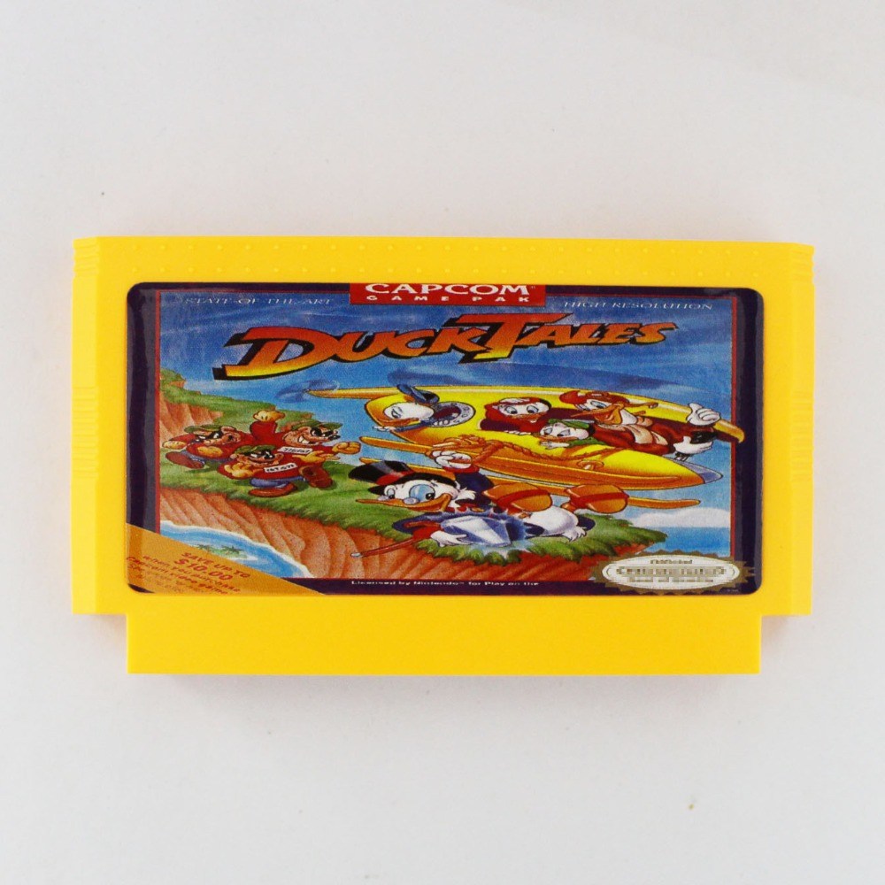 Duck Tales 60 Pin Game Card For 8 Bit Subor Game Player image