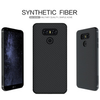 Nillkin Synthetic Fiber Phone Case For LG G6 Carbon Fiber PP Plastic Back Cover For LG