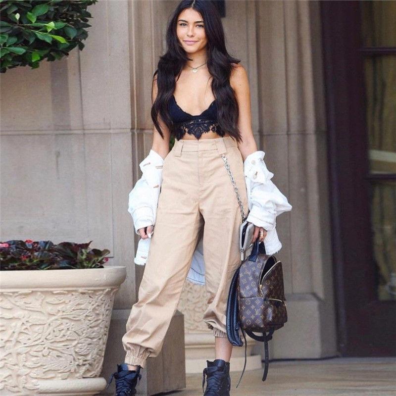 ciara outfits baggy pants - 736×911