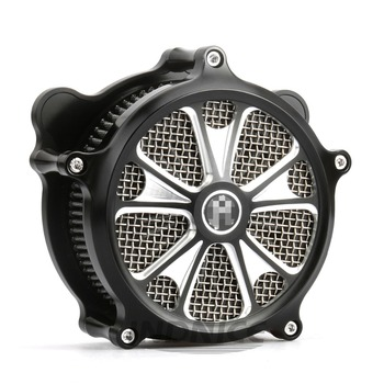 Contrast Cut Domino Air Cleaner for harley dyna fatbob air filter softail breakout air intake for harley touring 2000-2007