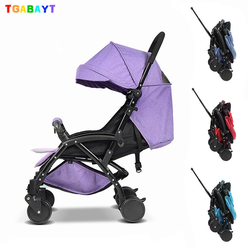 TGABAYT High Landscape Portable Lightweight Baby Strollers Foldable Baby Pram Pushchairs Kinderwagen yoya baby carriage YB002 newborn strollers high lightweight pram dropshipping wholesale portable baby top stroller carriage strollers fashion pushchair