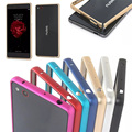 "For ZTE Nubia Z9 Max Bumper Case Ultrathin Metal Frame Case Cover for ZTE Nubia Z9 Max 5.5"" Mobile Phone Bumper Buckle Cover"
