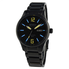 EPOCH 7012G steel strap waterproof 100m tritium gas digital number scale luminous mens business automatic mechanical watch