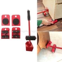 5 Stücke/8 stücke Möbel Transport Roller Set Entfernung Hebe Umzug Werkzeug Schwere Bewegen Haus Möbel zubehör D12 Dropship