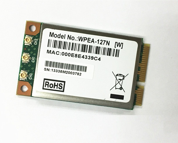 SSEA Wholesale NEW for Atheros AR5BXB112 AR9380 Dual Band 450Mbps 2.4G/5GHz Mini PCI-E Wireless Card 802.11a/g/n