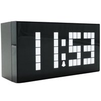Free Shipping Digital Alarm Clock Big Wall Clock LED Calendar Clock Electronic Large Despertador