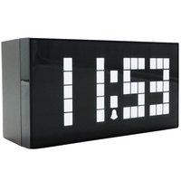 Free Shipping Digital Alarm Clock Big Wall Clock LED Calendar Clock Electronic Large Despertador