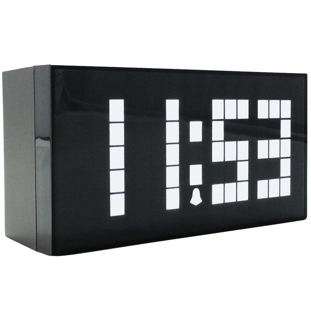 Големи числа Цифров будилник Часовник на стената Светодиоден часовник Електронни Голям Despertador Коледен таймер