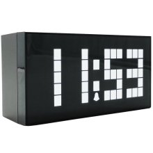 Big numbers Digital Alarm Clock Wall Clock LED Calendar Clock Electronic Large Despertador Christmas countdown timer