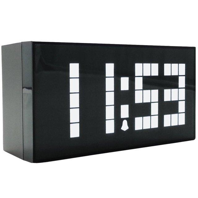 Big numbers Digital Alarm Clock Wall Clock LED Calendar Clock Electronic Large Despertador Christmas countdown timer
