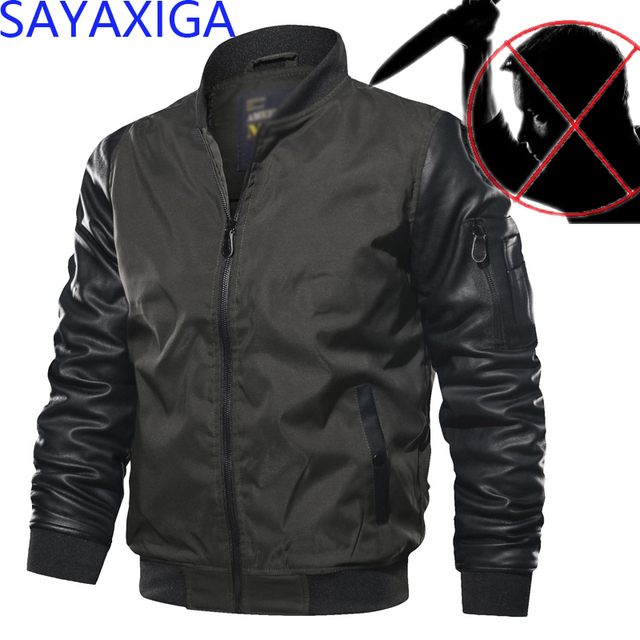 Self Defense Tactical Anti Cut Knife Cut Resistant Patchwork Jacket Anti Stab Proof Cutfree Stabfree Swat Security Soft OverCoat