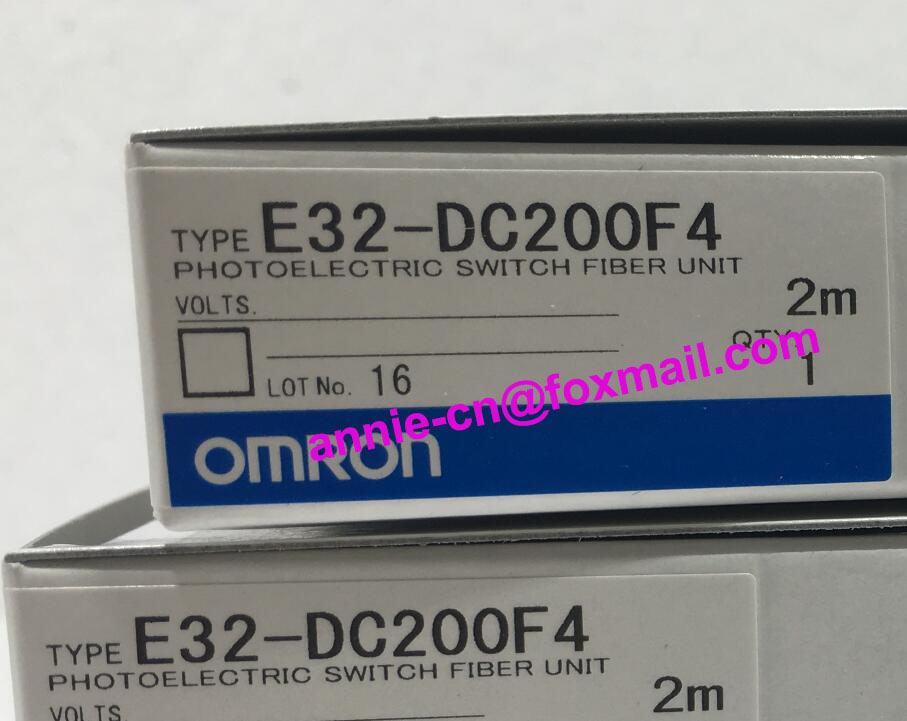 E32-DC200F, E32-DC200F4  2M  New and original  OMRON  PHOTOELECTRIC SWITCH FIBER UNIT dhl ems 5 sests new in box for omron plc e32 d21b e32d21b photoelectric switch fiber unit