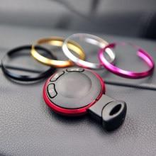 Anéis de chave mini cooper, anel de liga de alumínio para bmw mini cooper jcw r55 r56 r57 r58 r59 r60 r61