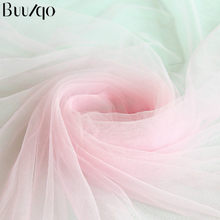 5meters/lot Nylon Soft tull mesh fabric encryption American net gauze Swiss net fabric for wedding dress clothing making materia(China)