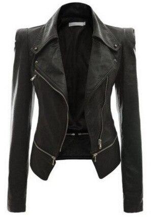 2019 autumn sexy fashion women plus size faux   Leather   S-4XL