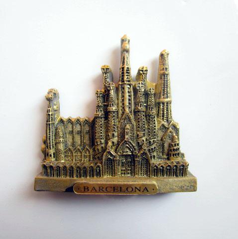 mundo europeu tourist souvenir espanha barcelona adesivos magnticos decorativos dom geladeira ms de geladeira de casa